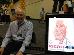iPad Caricature Event- Seattle