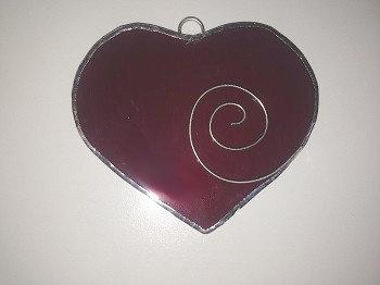 Valentine Heart Suncatcher