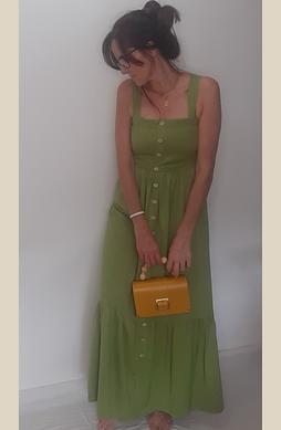Vestido Encanto Verde
