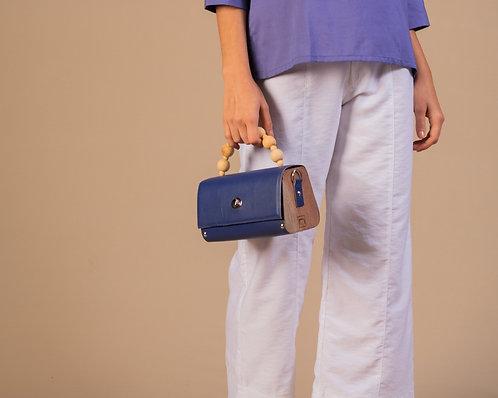 Bolsa Filó Azul Caneta