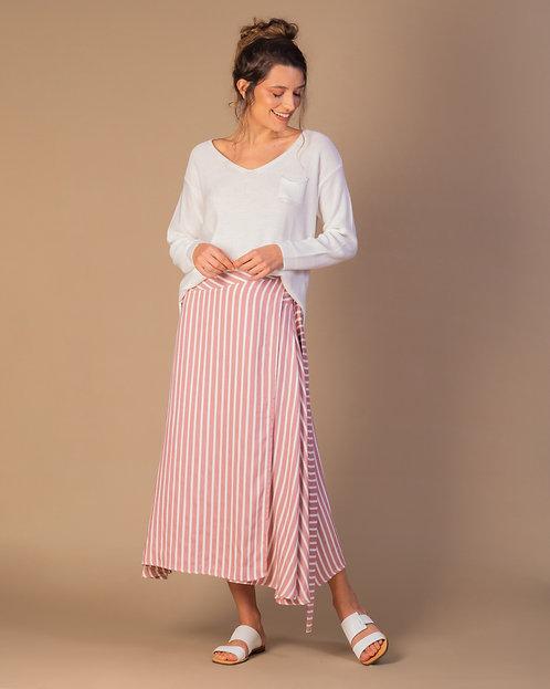 Camisa tricot Confort básica Off