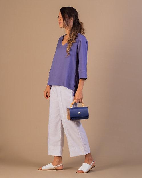 Camisa Búzios Azul  Carbono