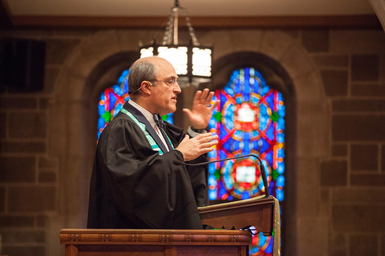 Pastor Fred Lyon