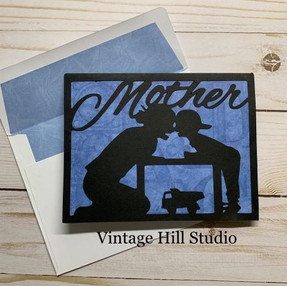 Mother & Son card - video tutorial