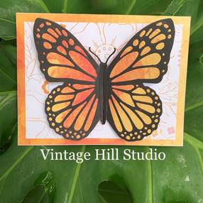 Fold-A-Long Butterfly Card - video tutorial