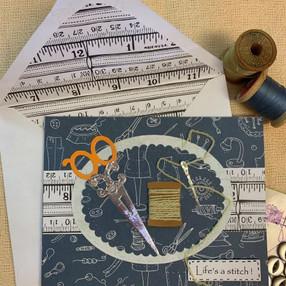 Sewing Card - video tutorial
