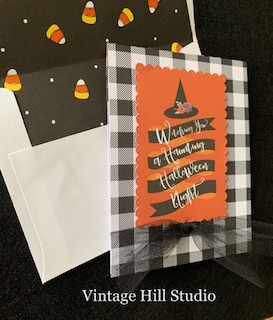 Witch Pop-Up Card - video tutorial