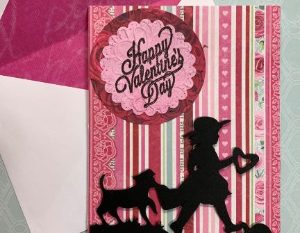 Cricut A Child's Year Valentine Card - video tutorial