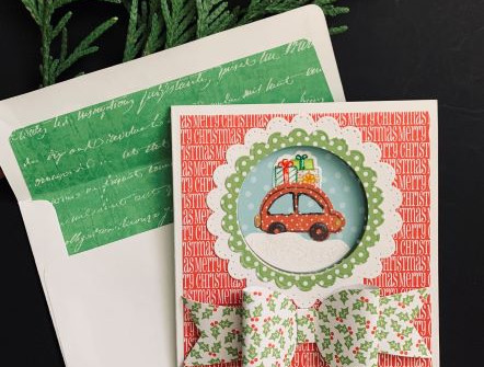 Home for the Holidays Card - video tutorial