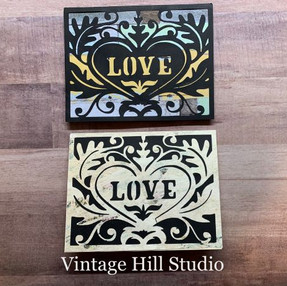 """Love"" 2-for-1 Valentine Card - video tutorial"