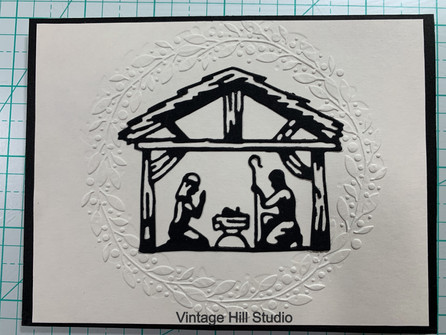 Nativity Card - video tutorial