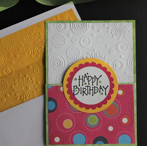 Split Birthday Card - Video Tutorial