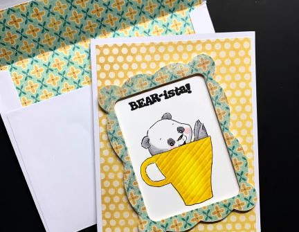 Bear-ista Card - video tutorial