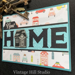 New Home Card - video tutorial