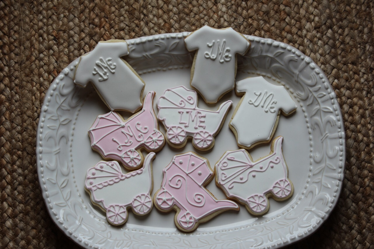 Decorated Cookies-Baby Shower