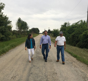 walking with constituents