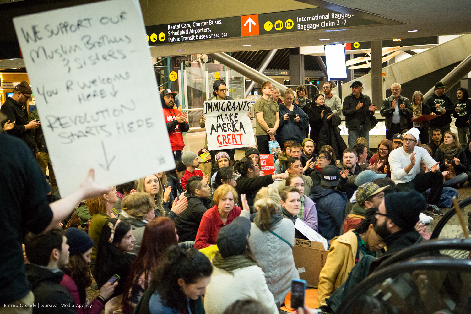 Sea-Tac Airport Protests