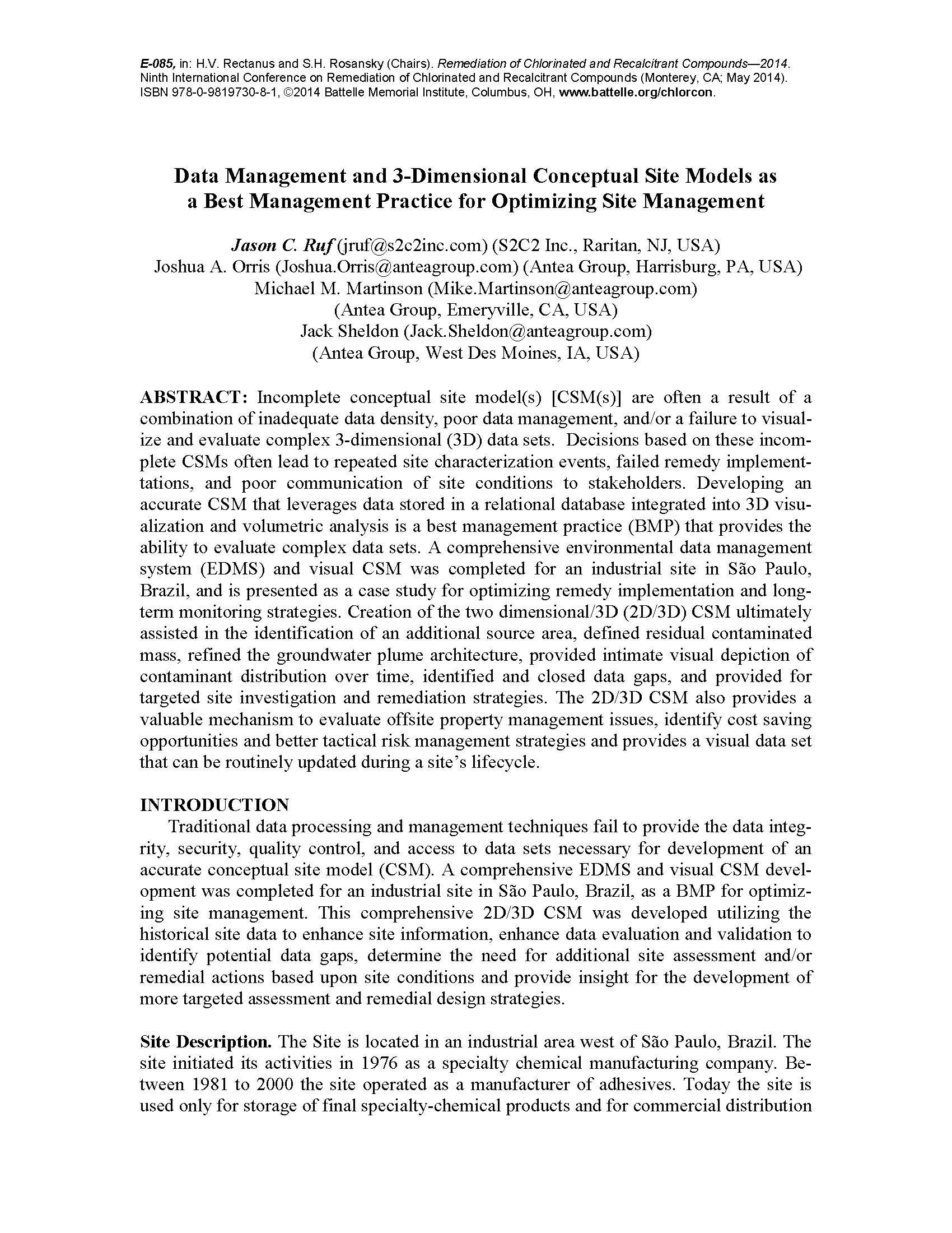 S2C2 Battelle Paper 2014