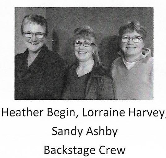Heather, Lorraine & Sandy