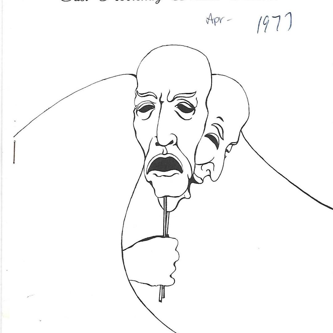1977 Festival program cover