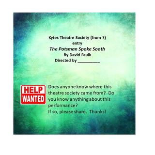 Kytes theatre society