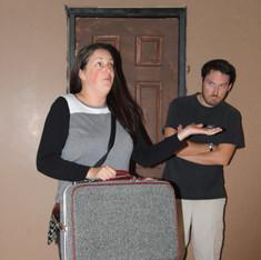 Amy & Jerrod in rehearsal