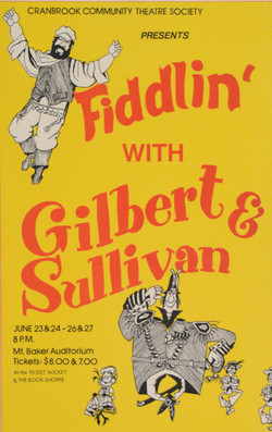 Fiddling With Gilbert & Sullivan