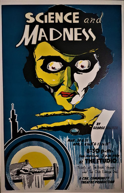 Science and Madness Poster
