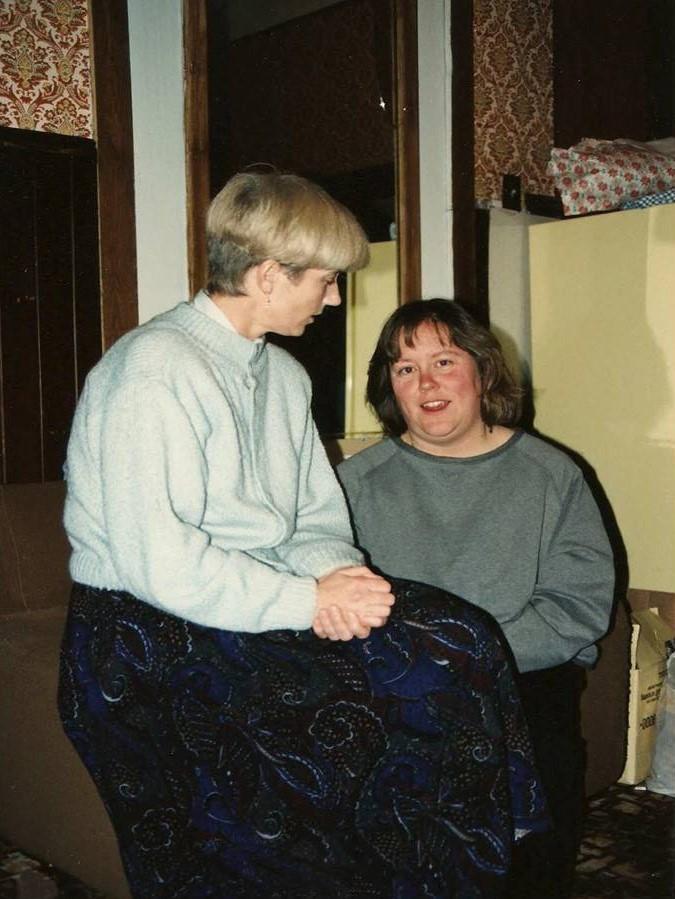 Harriet P and  Joanne B