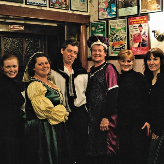 Kimberley, Amanda, Dean, Peter, Andrea, & Director,Tanya