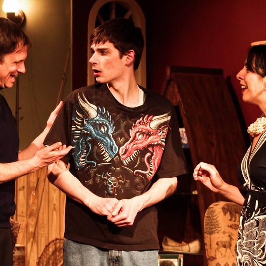 Sean, Jarrison and Jennifer