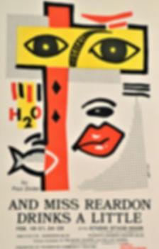 1987 Miss Reardon Drinks a Little poster