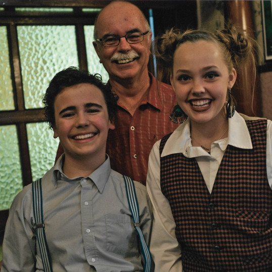 Jaxon , Jessica and Director, Terry Miller