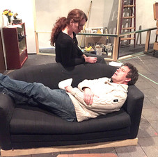 Nicole & Paul in rehearsal