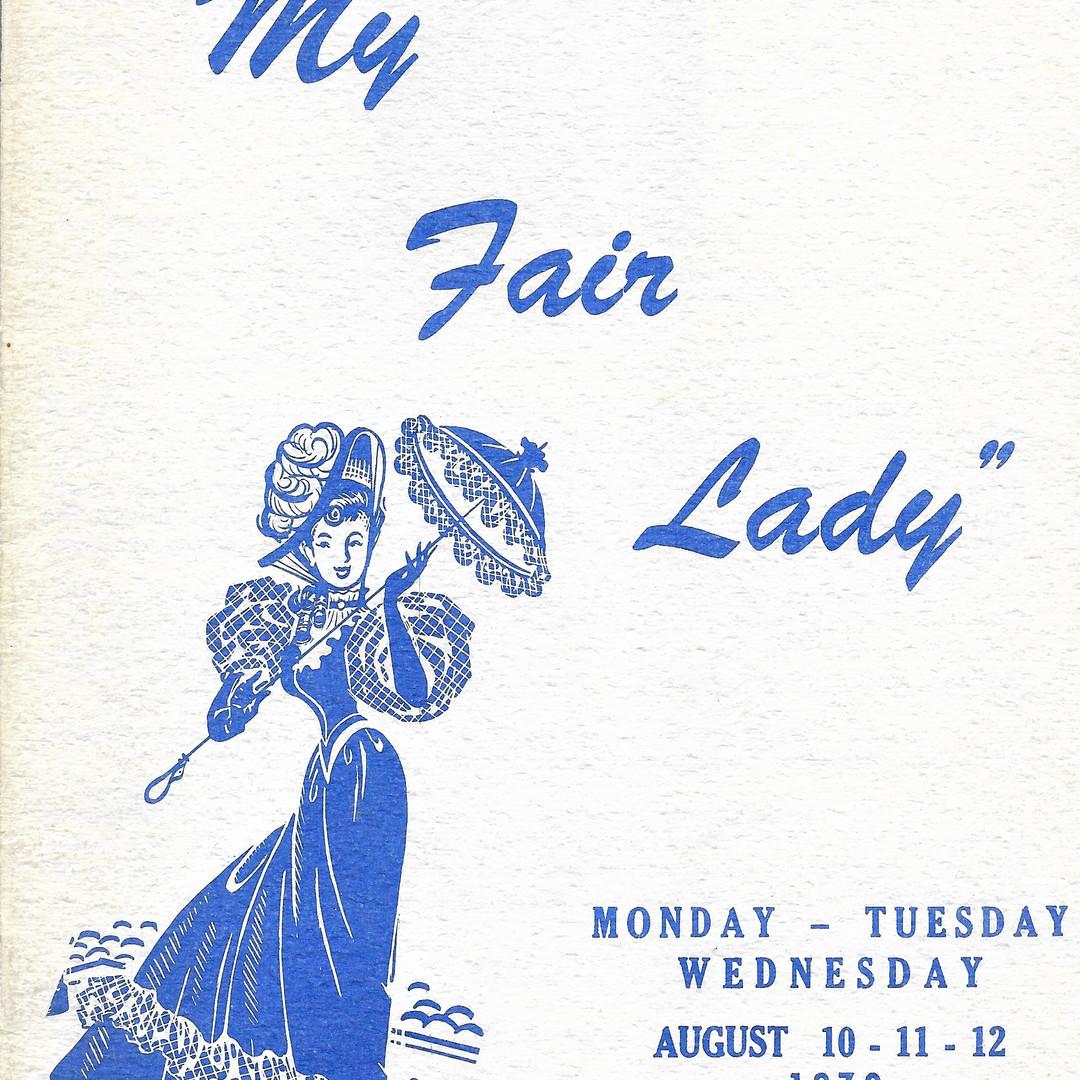 My Fair Lady program cover
