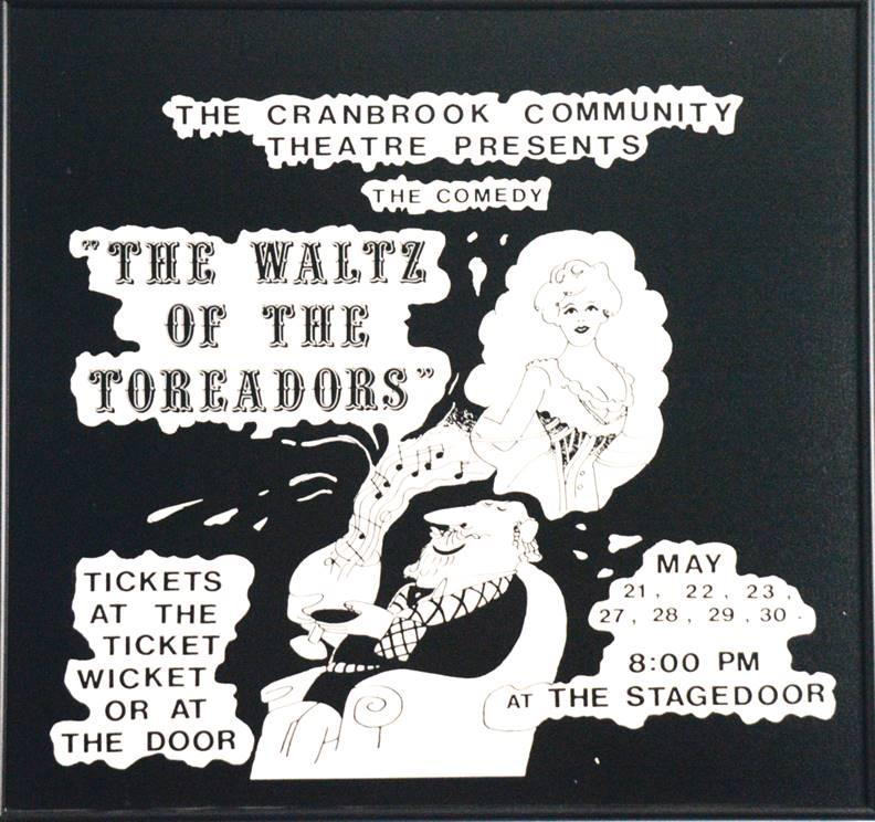 Toreadors poster 1981