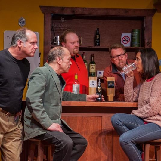 Barry, Jim, Landon, Dave & Jennifer