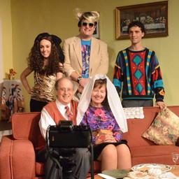 Michael, Melodie, Gina, David & Woody - 1980s Thanksgiving