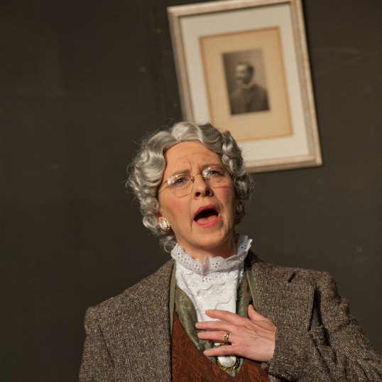 Nicola as Mrs. Graves