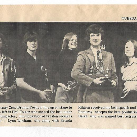 Festival 1974 Award Winners