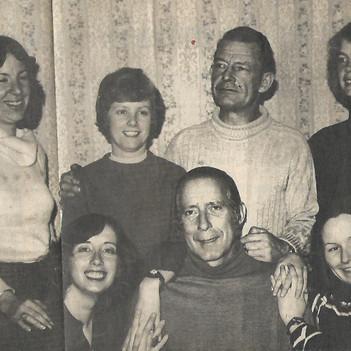 Cast - Debbie, Maggie, Bud, Ardath;  Kathy, Gordon & Louise