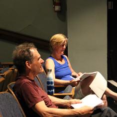 Michael & Andrea in rehearsal