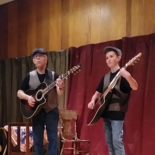 Ken & grandson, Kieran