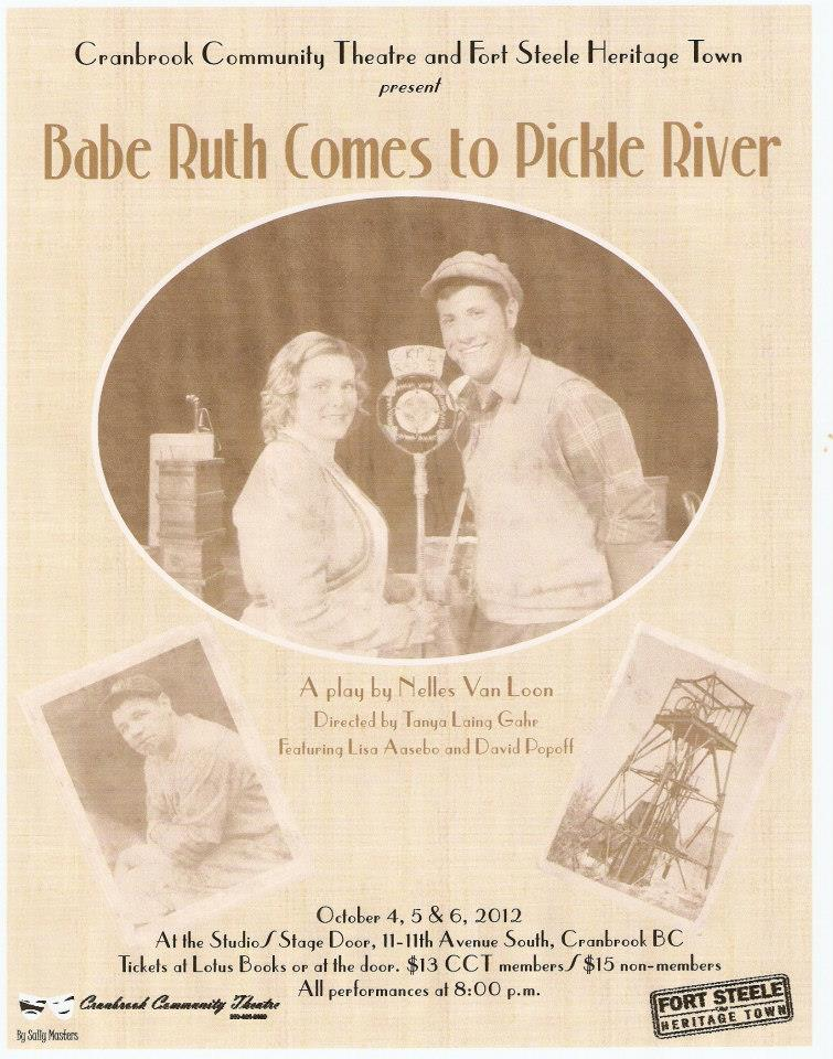 Babe Ruth Goes to Pickle River