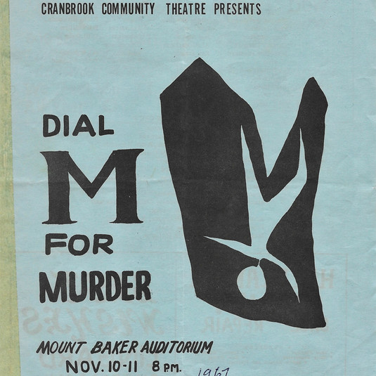 Dial M for Murder program