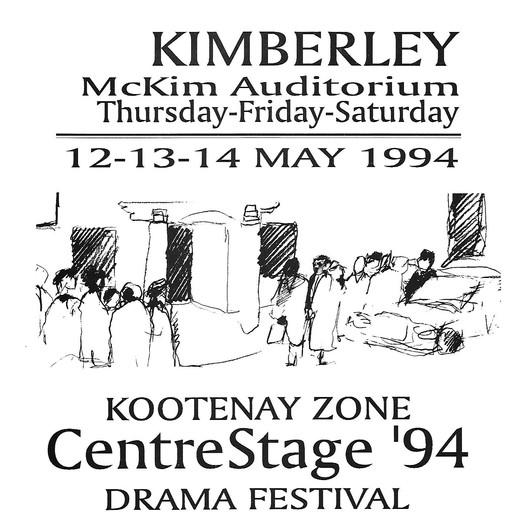1994 Zone Fest program cover