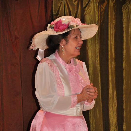 Melodie as Miss Melodie