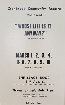 Whose Life is it Anyway 1984