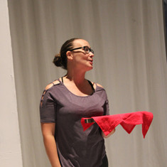 Viola  in rehearsal