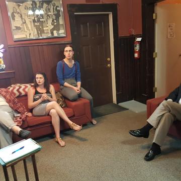 Pre-show with Alexander, Emily, Carter & Bob